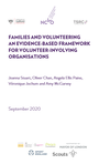 Families and volunteering framework report download graphic